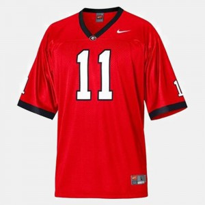 #11 Aaron Murray Georgia Bulldogs College Football For Men Jersey - Red