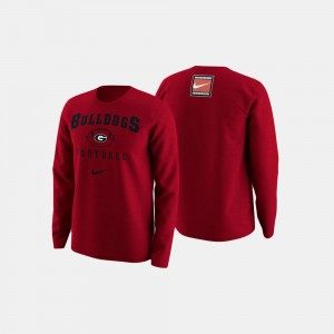Georgia Bulldogs Men College Football Retro Pack Sweater - Red