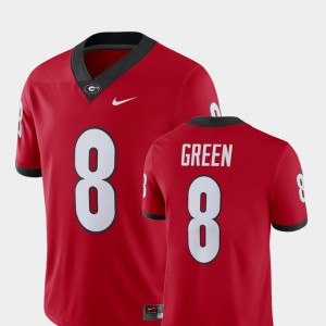 #8 A.J. Green Georgia Bulldogs Alumni Football Game Men's Player Jersey - Red
