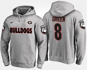 #8 A.J. Green Georgia Bulldogs For Men Hoodie - Gray