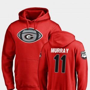 #11 Aaron Murray Georgia Bulldogs Football Game Ball For Men Hoodie - Red