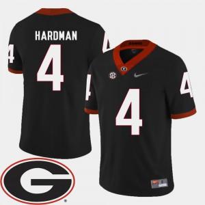 #4 Mecole Hardman Georgia Bulldogs College Football Men's 2018 SEC Patch Jersey - Black