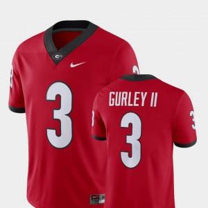 #3 Todd Gurley II Georgia Bulldogs Alumni Football Game Men's Player Jersey - Red